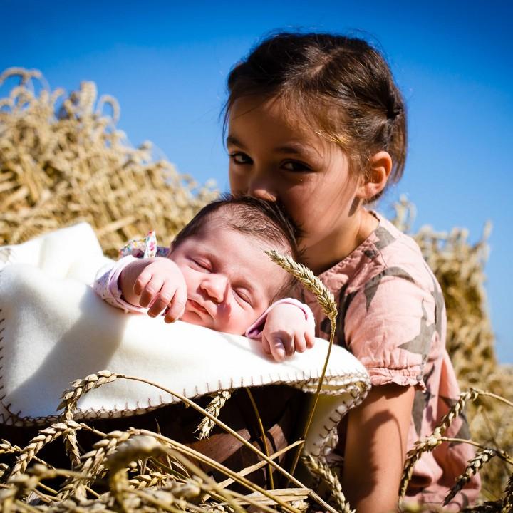 Sonnige Familienfotos und Babyfotos vom Volkspark in Herne an der Grenze zu Bochum